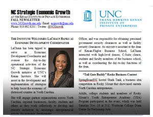 NC Growth November 2013 Newsletter