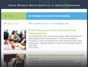 NCGrowth May 2014 Newsletter