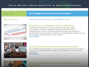 NCGrowth June 2014 Newsletter