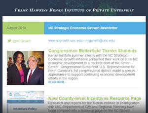 NC SEG August 2014 Newsletter