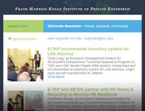 NCGrowth Newsletter January 2015
