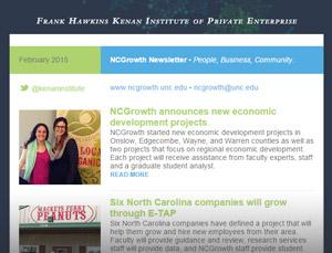 NCGrowth Newsletter February 2015