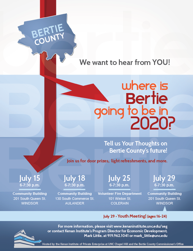 Where is Bertie going to be in 2020 - Flyer