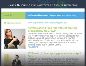 NCGrowth Newsletter March 2015