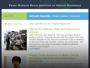 NCGrowth Newsletter May 2015