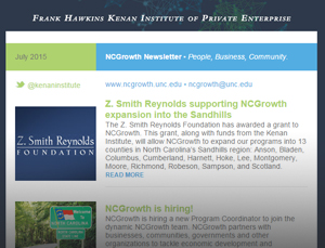 NCGrowth Newsletter July 2015