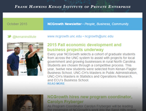 NCGrowth Newsletter October 2015