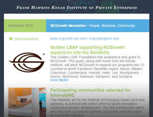 NCGrowth Newsletter December 2015