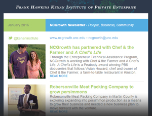 NCGrowth Newsletter January 2016