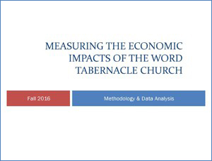 World Tabernacle Church Report Cover