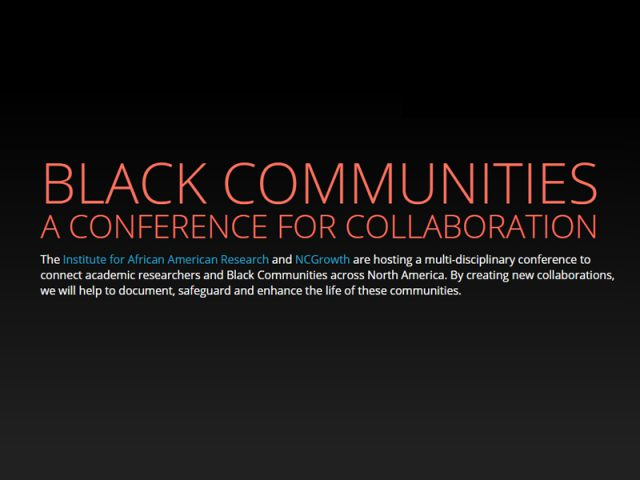 Black Communities Conference