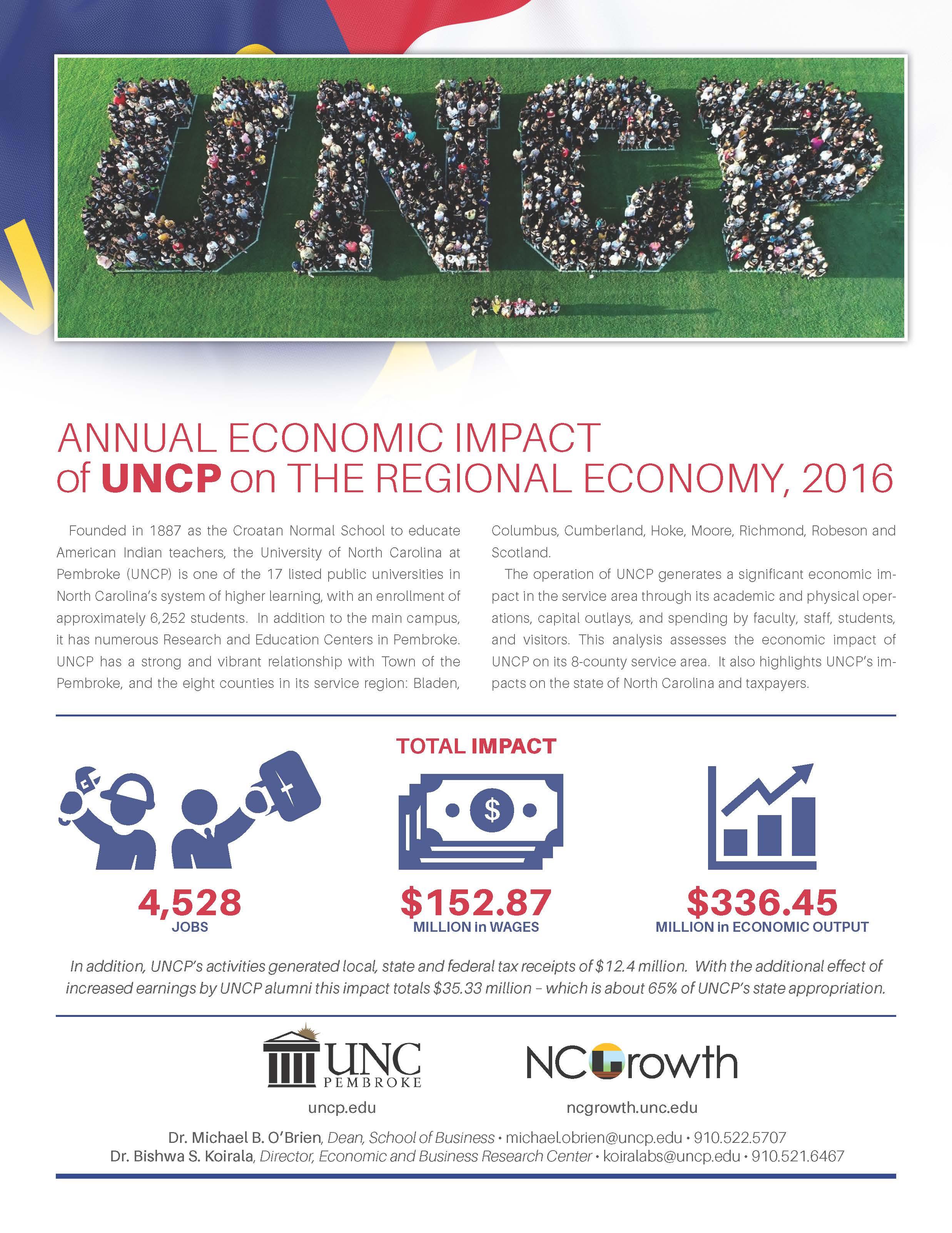 Economic Impact UNCP